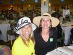 Nikki and I.  Derby day 2008.